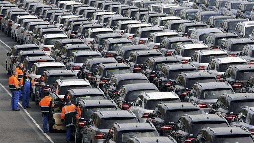 Las matriculaciones de vehículos en la UE subieron un 7,6 % en mayo