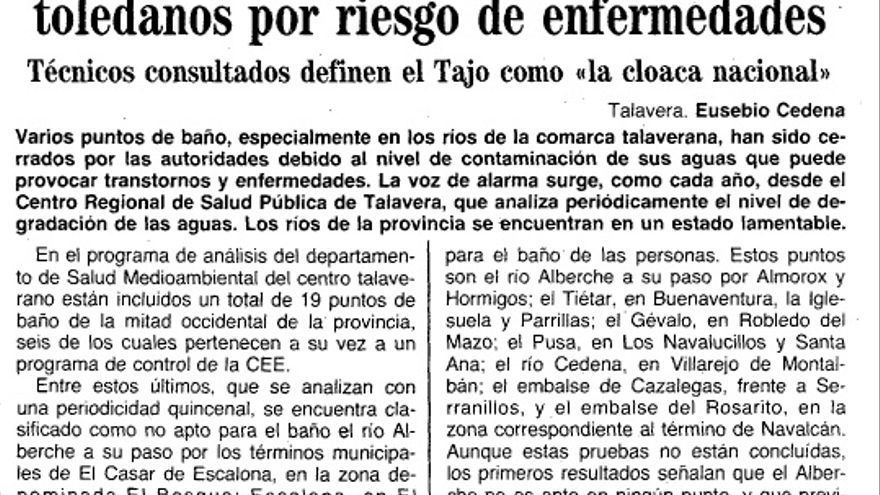 ABC Tajo, 1990
