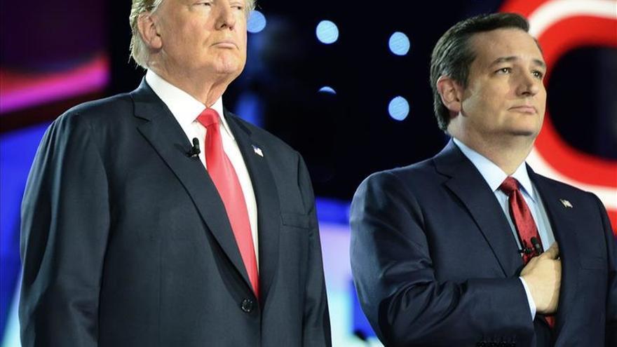 Una nueva encuesta a los republicanos en EE.UU. sitúa a Cruz a solo 4 puntos de Trump
