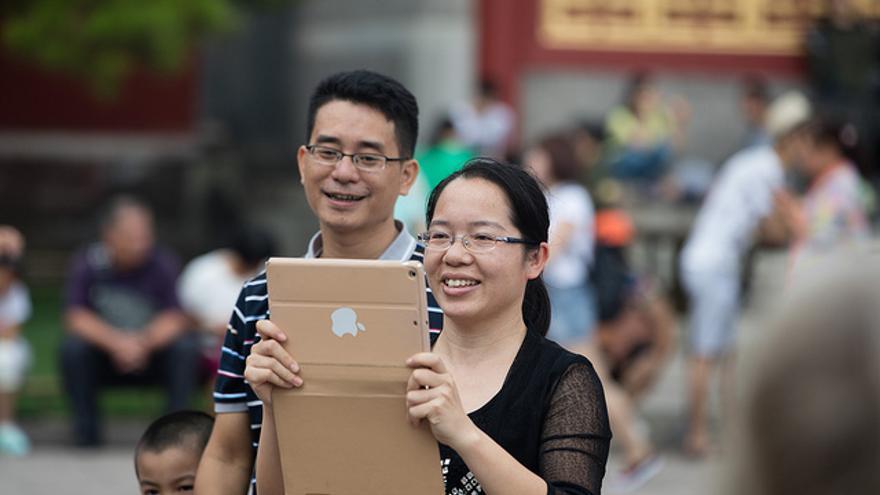 En China, Apple se ha convertido en una marca de lujo