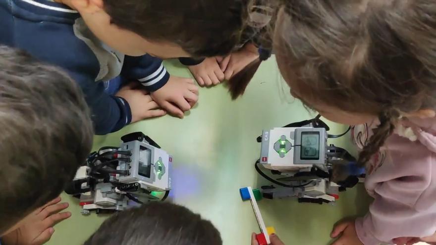 Actividades de robótica.