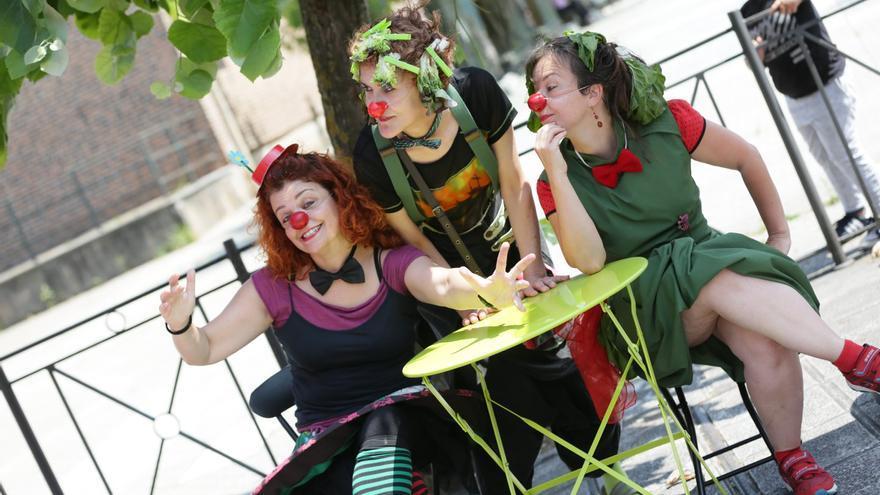 """El grupo """"de clown"""" de la asociación también participará en el encuentro   FACEBOOK"""