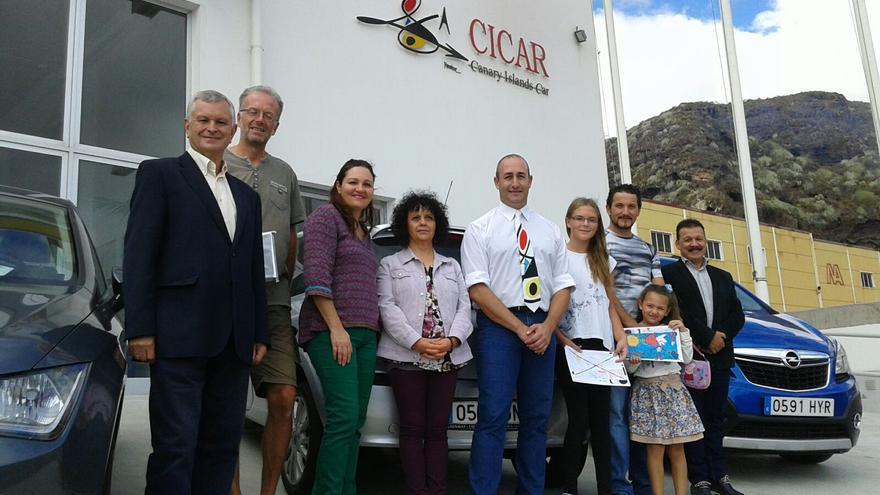 El acto de entrega de premios se ha celebrado en las dependencias de Orvecame en Breña Baja.