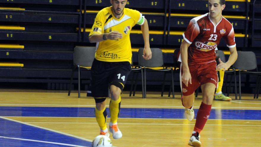 El capitán del Gran Canaria FS, Julio Manuel Delgado.