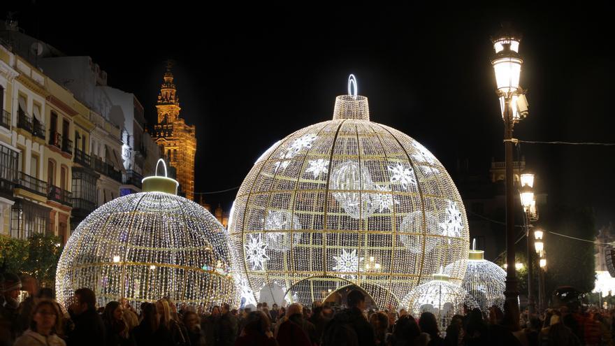 Iluminación navideña en Sevilla