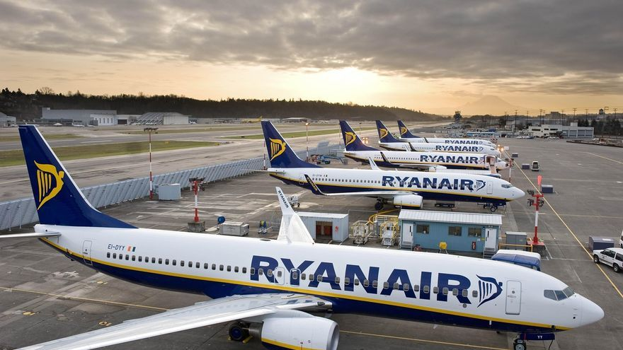 Ryanair cancelará casi todos sus vuelos a partir del 24 de marzo por el coronavirus