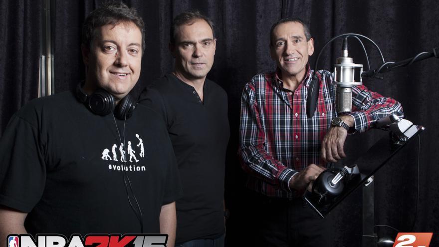 NBA 2K15 comentaristas en español