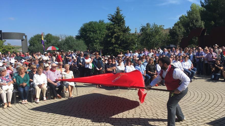Las víctimas del golpe militar de 1936 reciben en Sartaguda el reconocimiento del Gobierno de Navarra