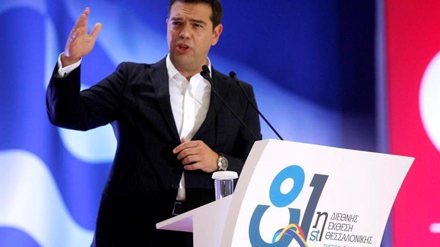 """Tsipras dice que Grecia es un """"oasis de estabilidad en medio de una región inestable"""""""