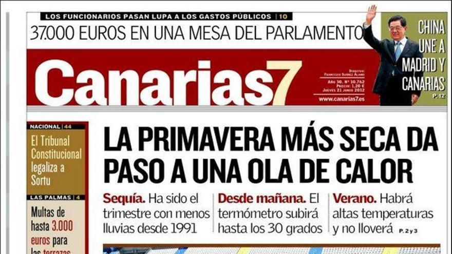 De las portadas del día (21/06/2012) #1