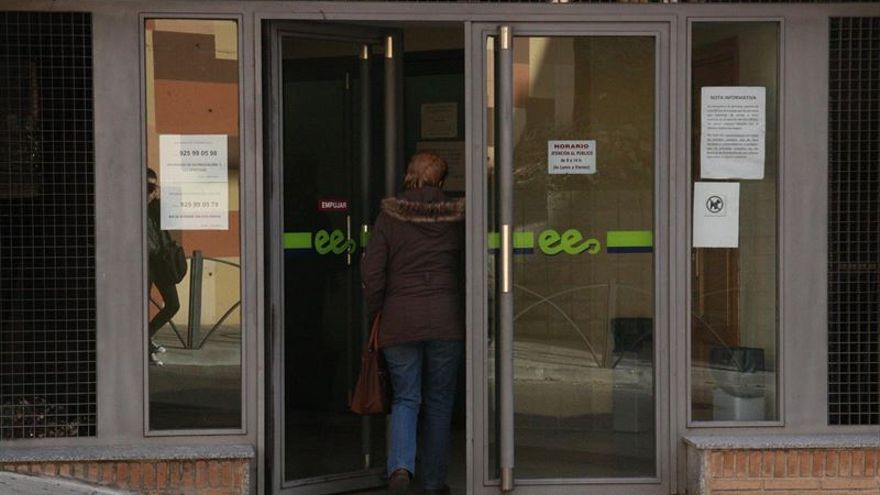 Oficina de empleo de Castilla-La Mancha.