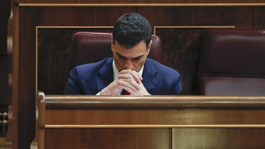 """Sánchez cierra el debate llamando a poner en marcha """"el cambio"""""""