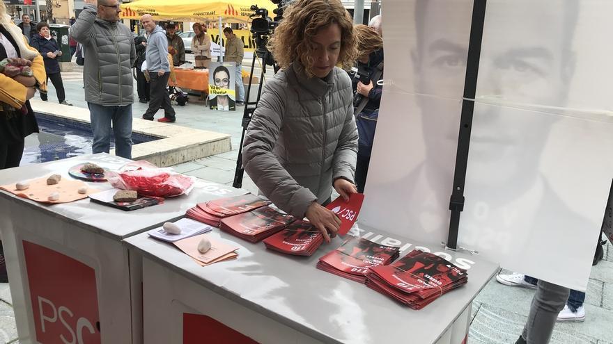"""Batet pide evitar """"intermediarios"""" como ERC y apostar por Sánchez en las urnas"""