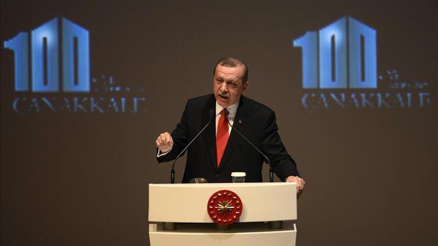 Erdogan cree que la Unión Europea pone obstáculos a la adhesión de Turquía