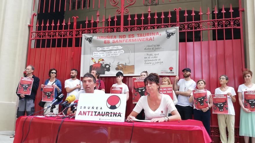Iruñea Antitaurina pide a las instituciones navarras que prohíban la asistencia de menores a eventos taurinos