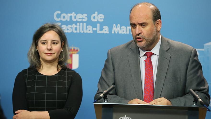 José Luis Martínez Guijarro y Araceli Martínez. FOTO: JCCM