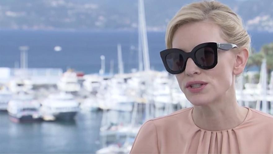 Cate Blanchett en Cannes