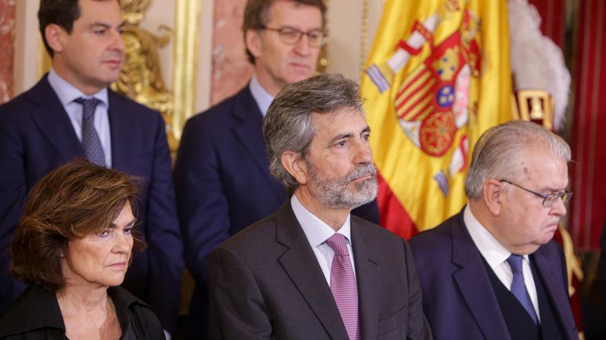 """Feijóo rechaza """"lecciones"""" de Cs, que """"se ha hundido"""", sobre lo que debe hacer el PP ante la investidura"""