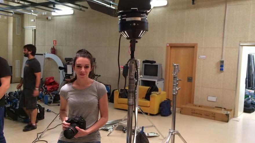 Laura Villar, estudiante de último curso de Periodismo y Comunicación Audiovisual en la Universidad Carlos III.
