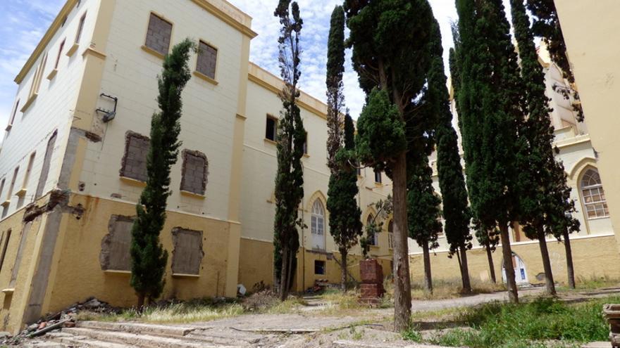 Patio del antiguo colegio de La Asunción / R.C.