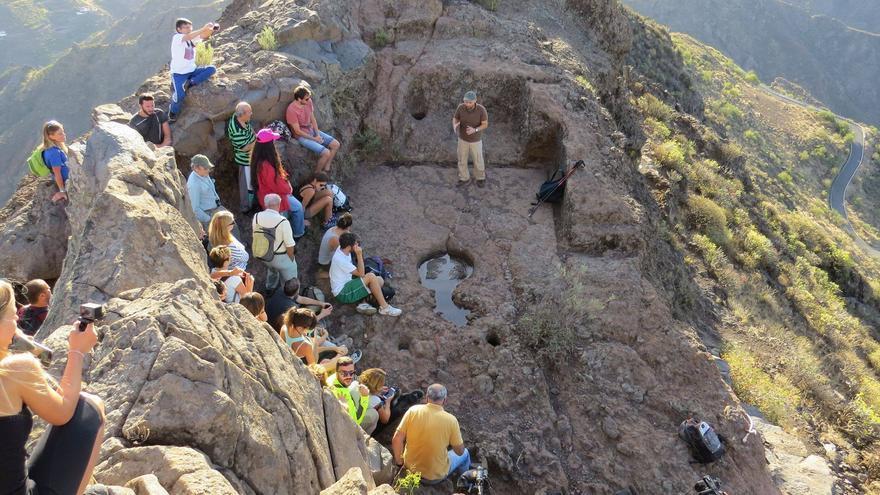 Excursión al Roque Bentayga (Cabildo de Gran Canaria)