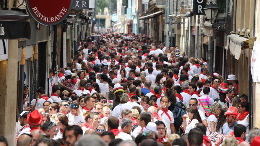 Los hoteles de Pamplona pierden entre un 12% y un 14% de rentabilidad durante Sanfermines respecto a 2018