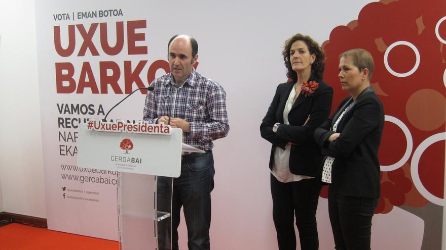 Uxue Barkos propone una oficina de Navarra en Bruselas y la entrada en la eurorregión con CAV y Aquitania