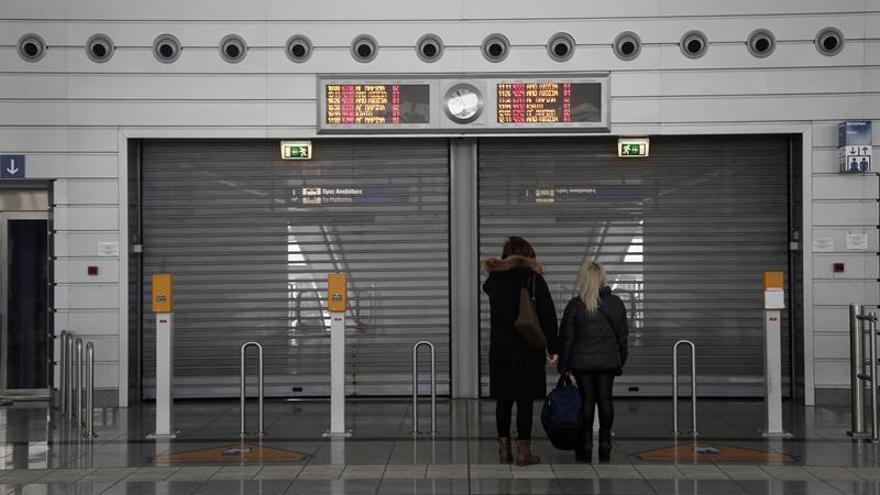 Huelga de 24 horas en el transporte público ateniense contra las privatizaciones