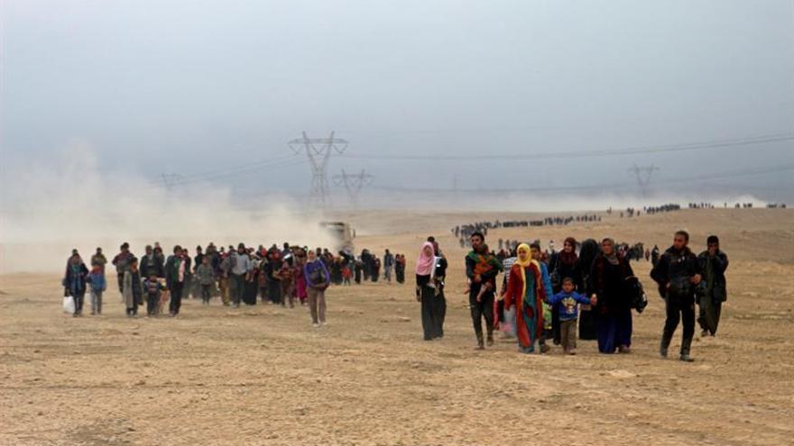119.000 desplazados regresaron a sus casas en la zona oriental de Mosul