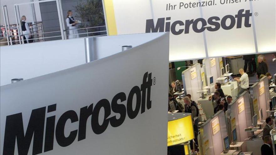 El beneficio neto de Microsoft baja un 3,7 por ciento de octubre a diciembre