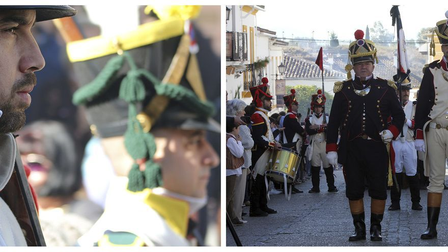 Atuendos y dramatizaciones teatrales con fidelidad histórica. | JUAN MIGUEL BAQUERO