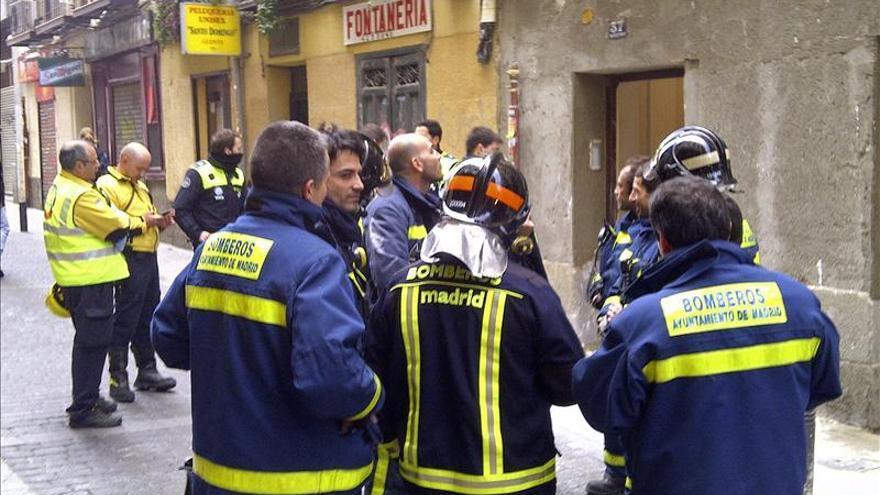"""Los bomberos de la Comunidad de Madrid se niegan a """"colaborar en los desahucios"""""""