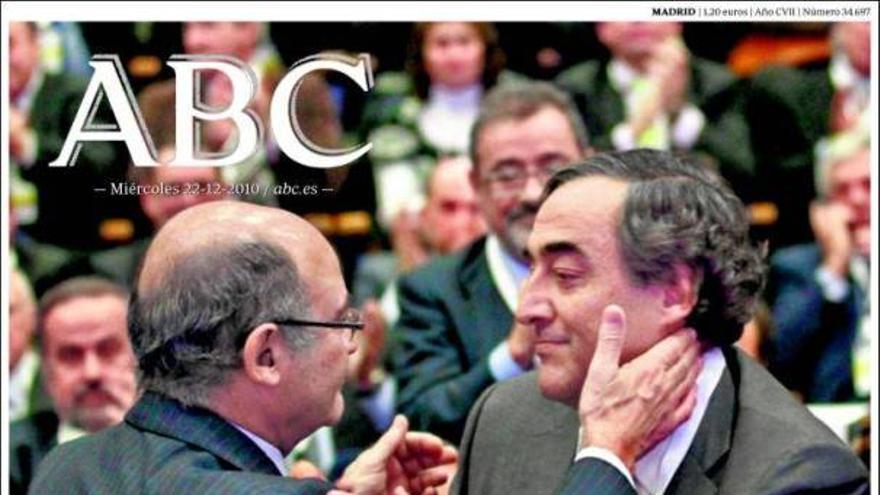 De las portadas del día (22/12/2010) #6