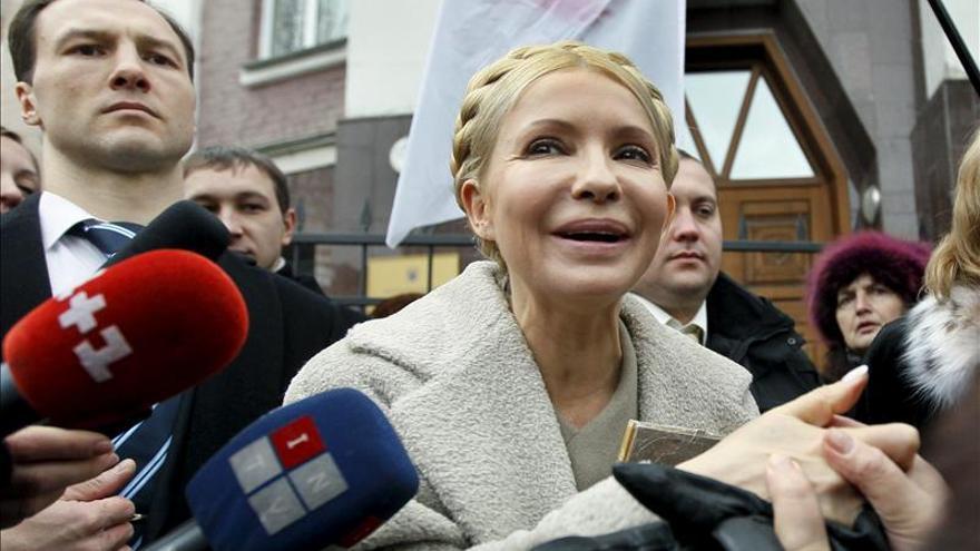 Timoshenko vuelve a negarse a comparecer ante los tribunales por motivos de salud