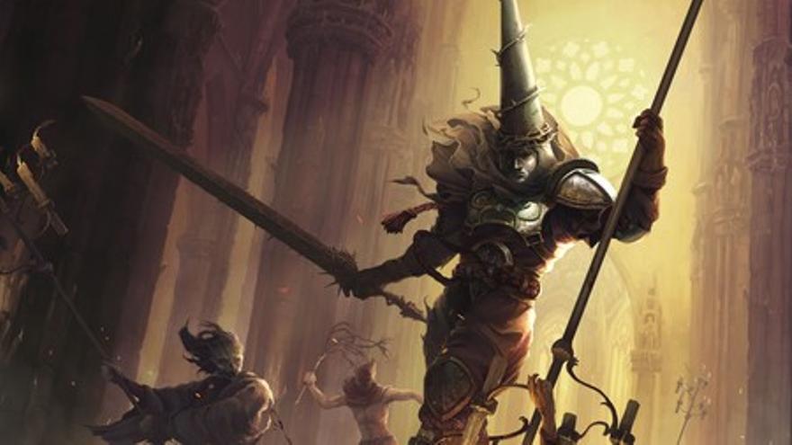 Imagen del videojuego Blasphemous, del estudio sevillano The Game Kitchen
