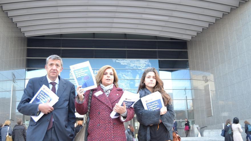 """Consuelo Ordóñez (Covite) afirma que el desarme """"llega tardísimo"""" y teme que sea """"otro teatro"""""""