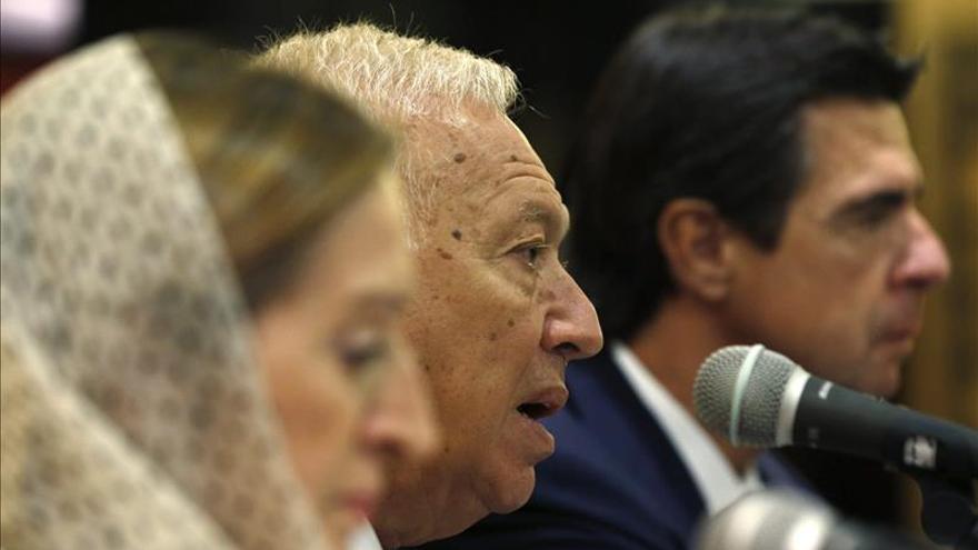 """Margallo: """"Ha llegado el momento de entablar negociaciones"""" con Al Asad"""