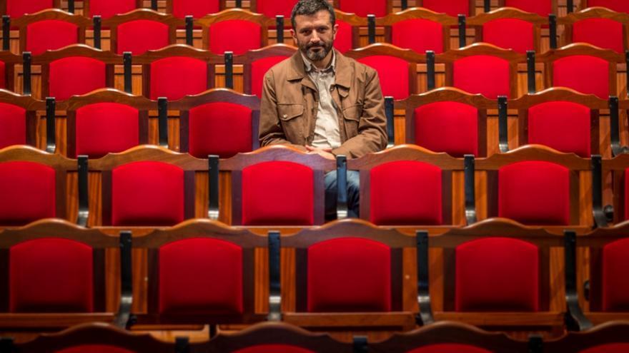 """Antonio Tabares se muestra """"feliz"""" por su nominación a los Premios Max. Foto: ISRAEL DE CARLOS"""