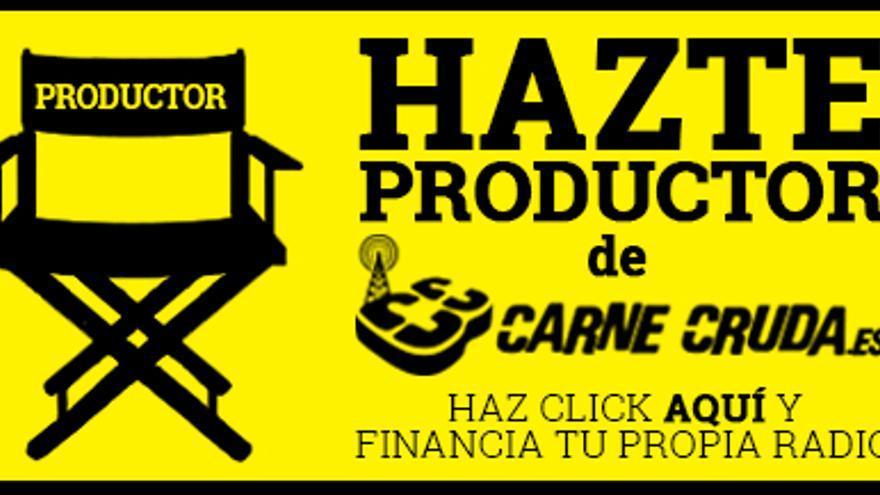 Hazte productor o productora de Carne Cruda