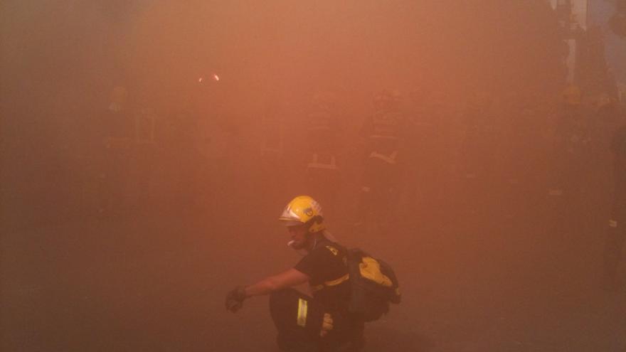 De las protesta de los bomberos #6