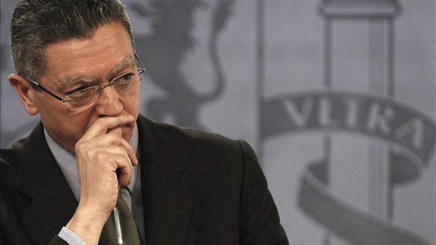 Gallardón niega legitimidad a Amaiur para dar lecciones contra la corrupción