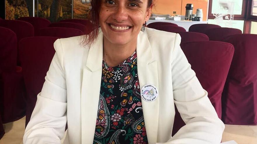 La escritora saucera Sandr Lorenzo.