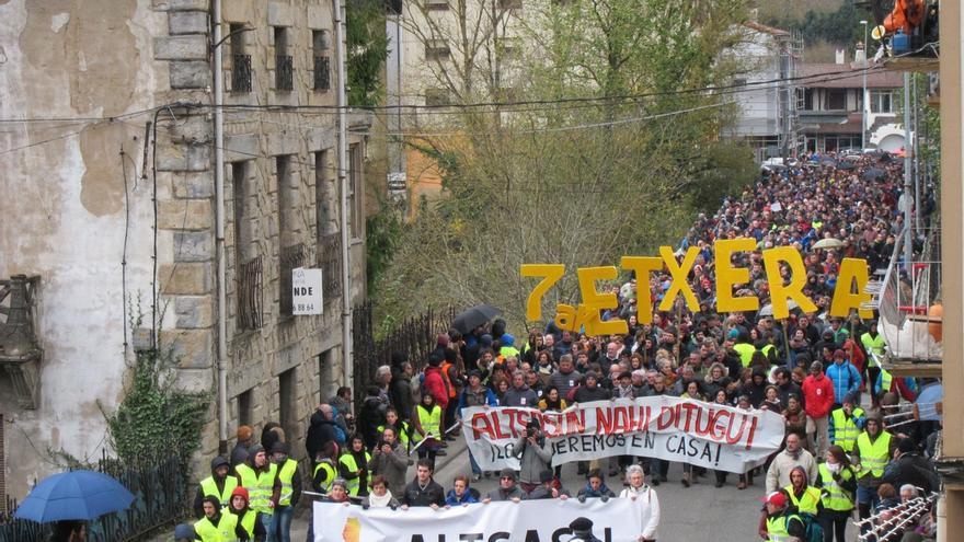 Familiares de los detenidos en Alsasua comparecerán el viernes en el Parlamento de Navarra