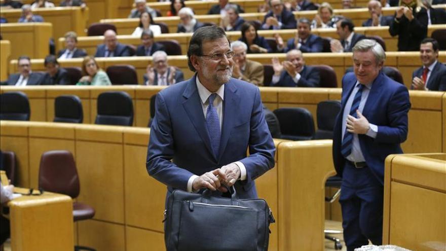Rajoy acudirá el 26 de mayo al Senado, dos días después de las elecciones