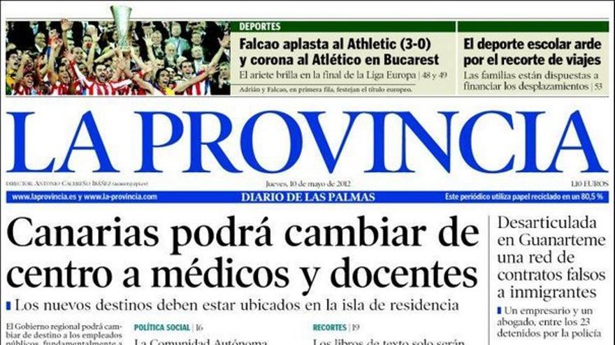 De las portadas del día (10/05/2012) #1
