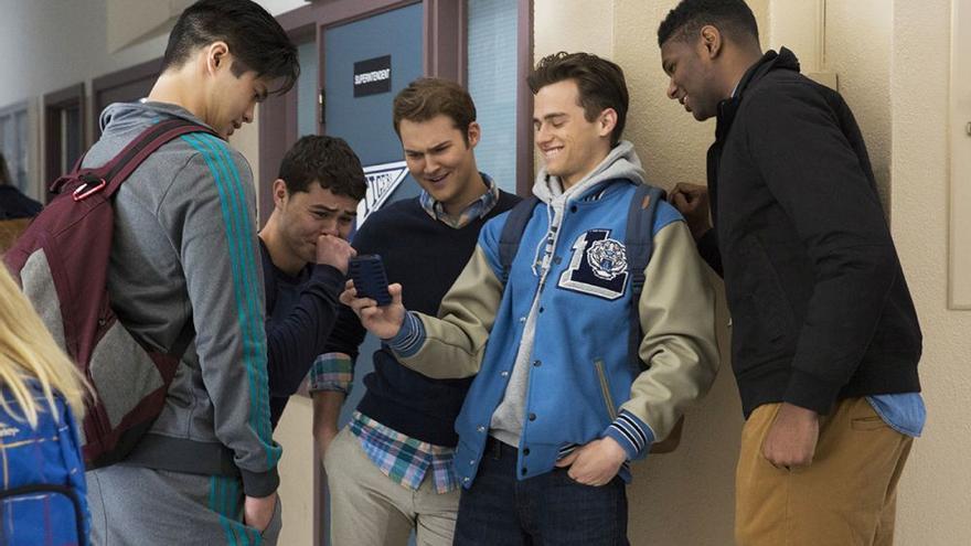 Los bullies de la serie 'Por trece razones'