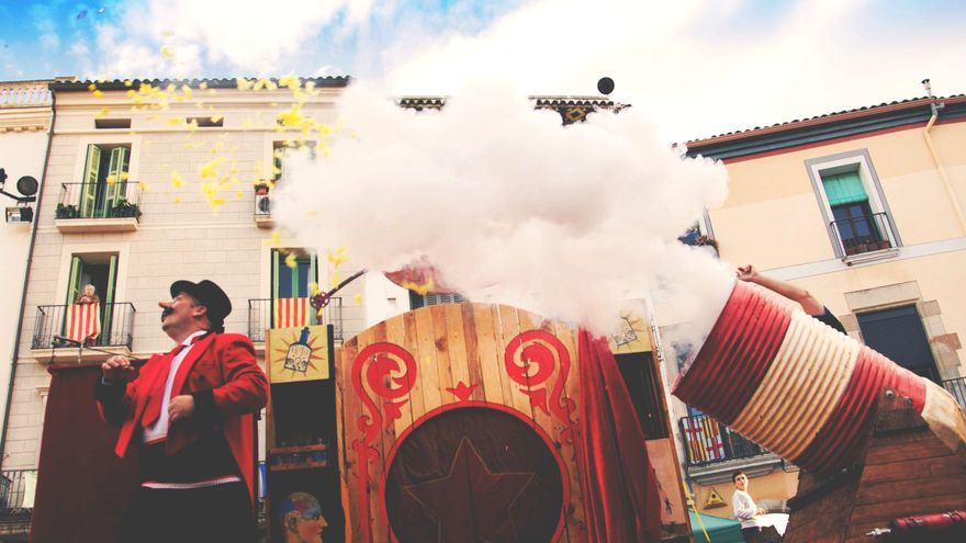 Uno de los espectáculos del Festival de la Magia y lo Visual de santander.