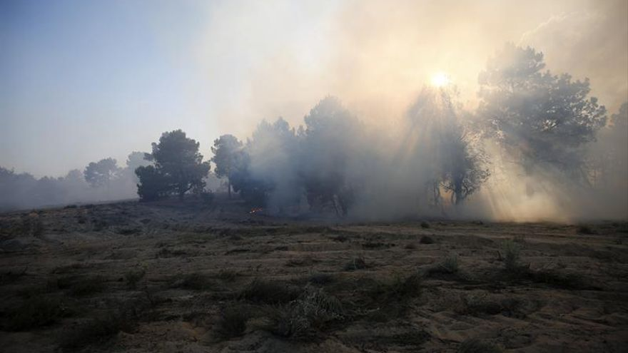 Controlado el incendio de Navalilla (Segovia), que ha arrasado 460 hectáreas