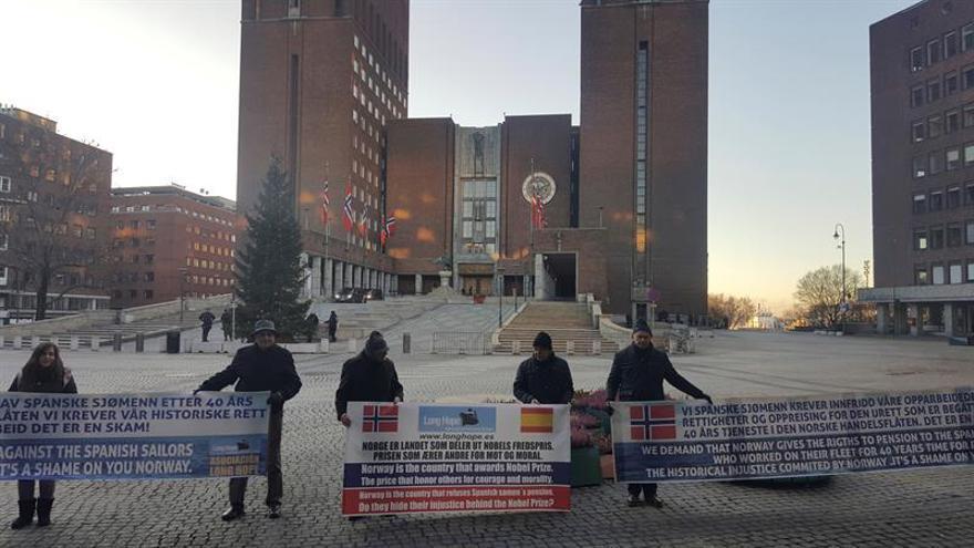 La justicia noruega abre un nuevo juicio con los marineros españoles que exigen pensión