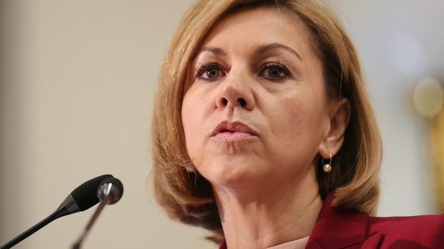 Cospedal,  Maillo, Casado y Arenas ya están en la sede del PP para seguir el recuento electoral